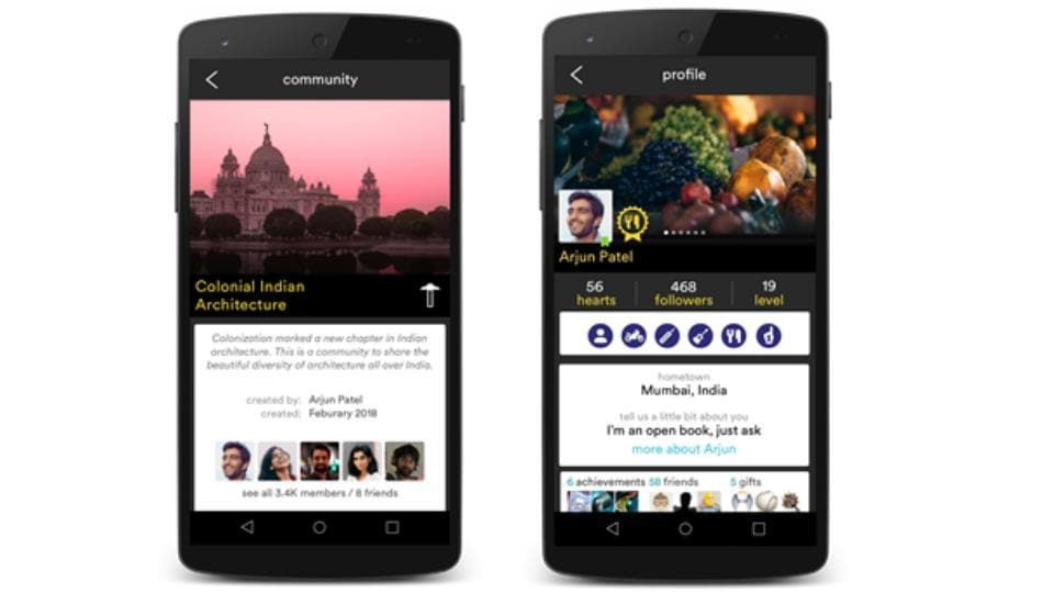 'hello' social app is available on iOS and Android.