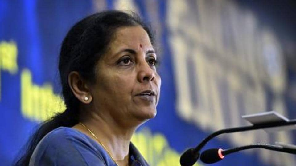 """Defence minister Nirmala Sitharaman said she wanted to remove doubts that """"nothing is happening in the ministry""""."""