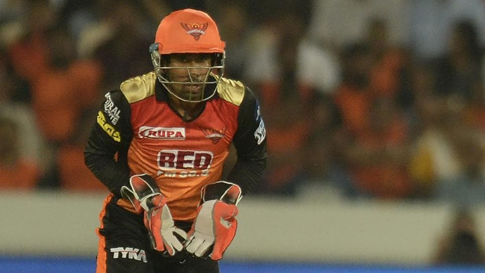 Tom Moody feels Wriddhiman Saha (in pic) is the right man to open the innings for Sunrisers Hyderabad (SRH) in the 2018 Indian Premier League (IPL).