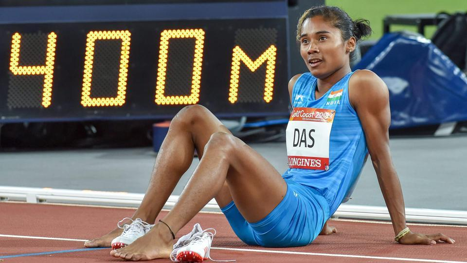 In the women's 400m final at the 2018 Commonwealth Games, Hima Das ran yet another personal best of 51.32 seconds but that was enough for a sixth place finish.