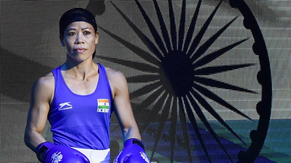 Though Mary Kom (in pic) won her match, Sarita Devi and Pinki Rani lost their respective quarter-final bouts. (PTI)