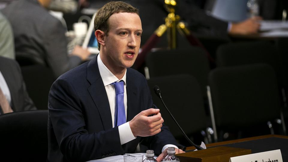 Facebook founder Mark Zuckerberg during his congressional hearing on Tuesday apologised publicly for the social network's misuse of members' data during a congressional hearing and said he wants to ensure protection of integrity of elections, mentioning that he knows the importance of upcoming polls in countries, including India, Pakistan and Brazil. (Al Drago / Bloomberg)