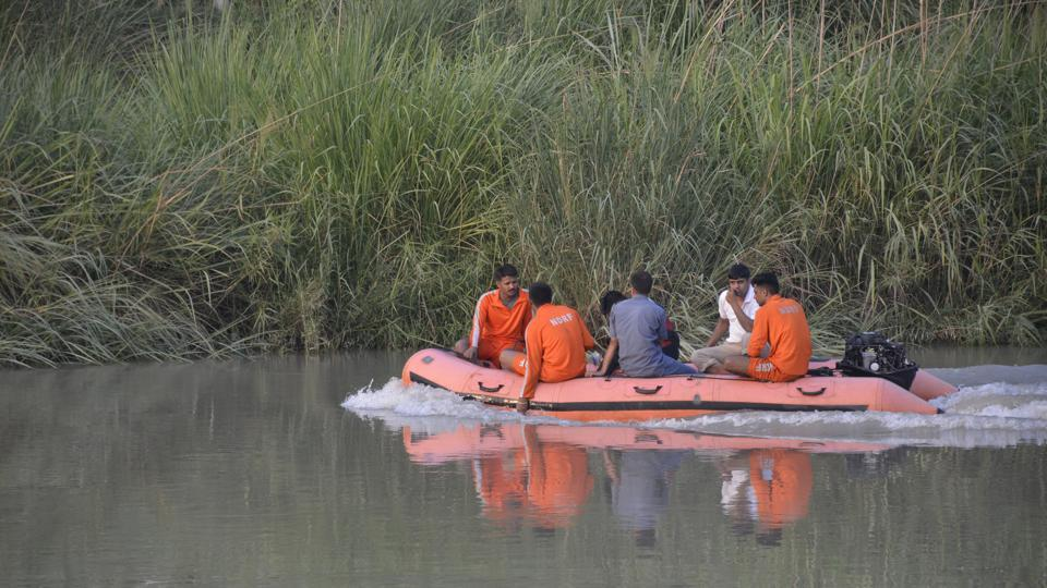 Hadapsar fire brigade officials' search for the boy's body has not been successful.