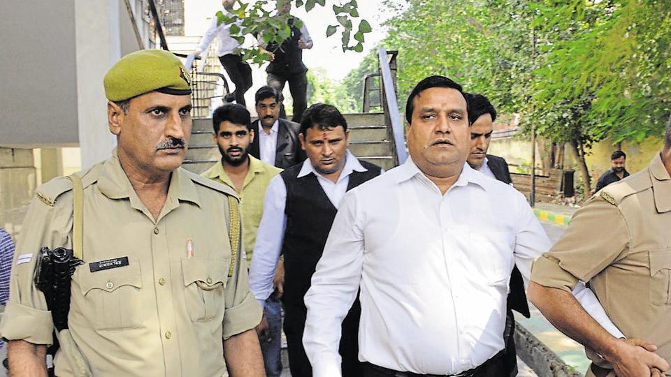 The former MLA is presently in jail in connection with the murder of Bharatiya Janata Party (BJP) leader Gajendra Bhati. He was gunned down by two bikers in Khoda on September 2, 2017.