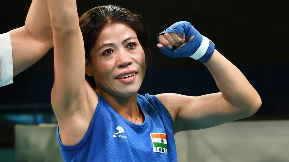 2018 Commonwealth Games,MC Mary Kom,women's boxing