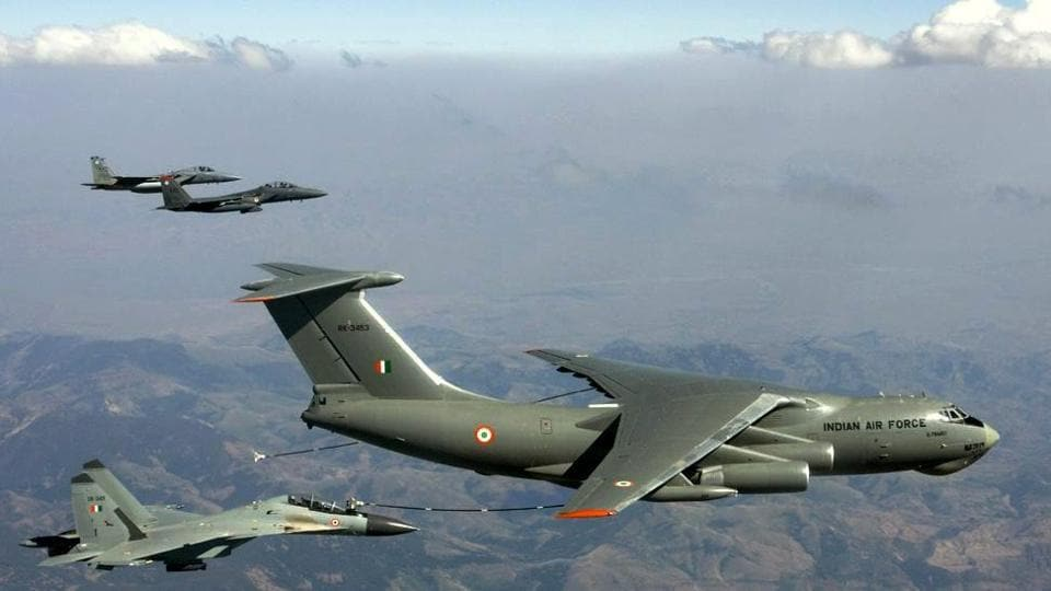 Indian Air Force fighter planes, Boeing's B-29, flying alongside F-16 and F-15 of USAF during Red Flag exercise in Naveda, US.
