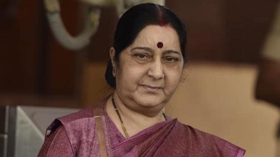 Sushma Swaraj,Indian students in Georgia,Mikheil Janelidze