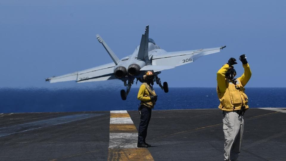 US military,South China Sea,China's massive drill