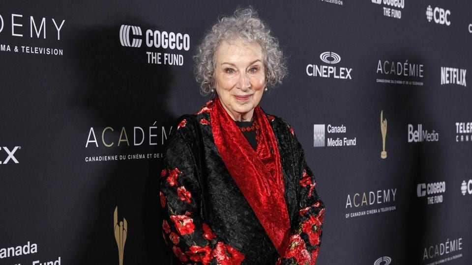 Atwood's dystopian novel The Handmaid's Tale is enjoying a cultural resurgence as a TV adaptation has resonated strongly with feminist movements in the Donald Trump era.