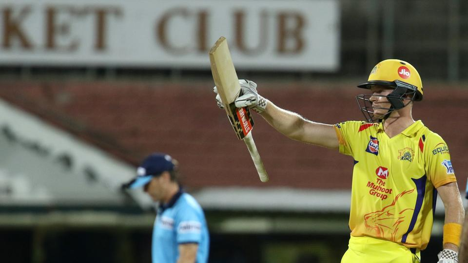 Sam Billings blasted 56 off 23 balls to help Chennai Super Kings chase down 203 and win a high-scoring thriller by five wickets against Kolkata Knight Riders in the 2018 Indian Premier League.  (BCCI)