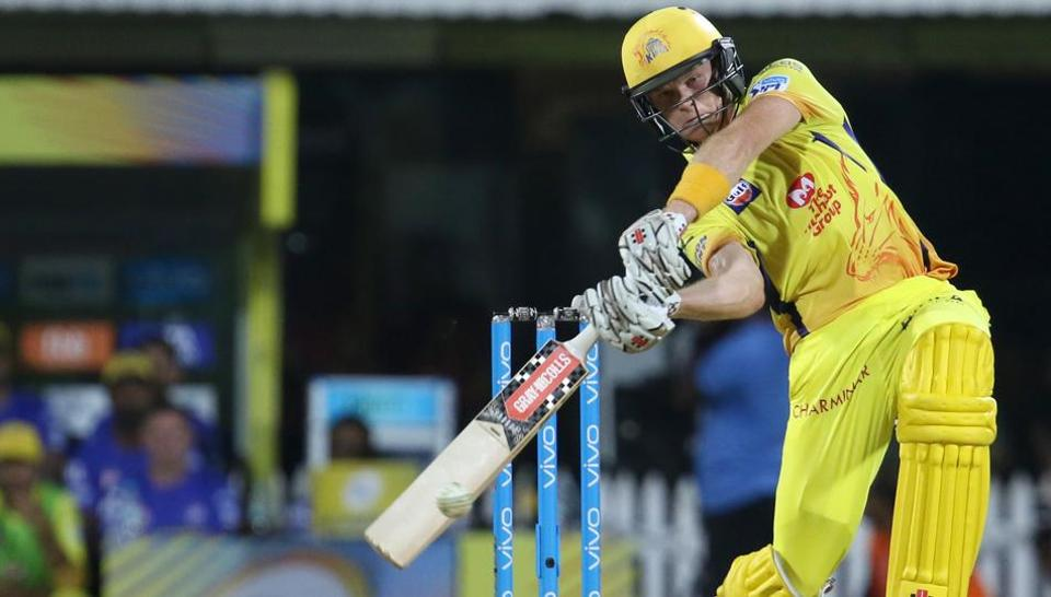 Sam Billings in action during match five of the Indian Premier League 2018 (IPL 2018) between Chennai Super Kings and Kolkata Knight Riders at the M. A. Chidambaram Stadium in Chennai.