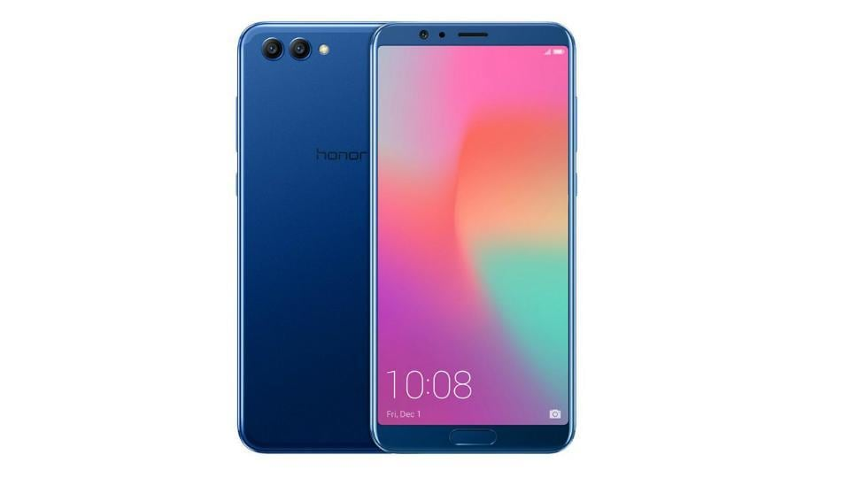 Honor View 10 features a 5.99-inch full HD+ display with 18:9 aspect ratio