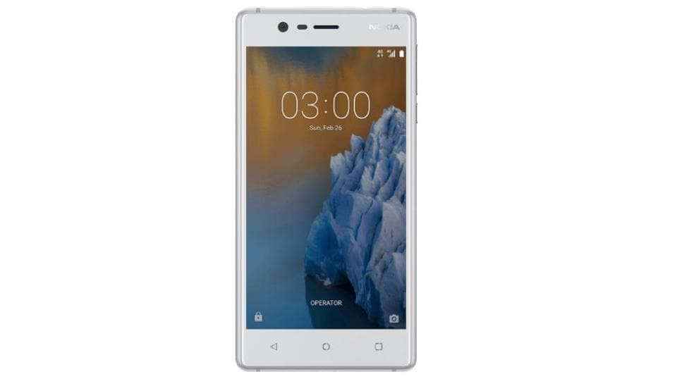Nokia 3 starts at Rs 7,999 for the base variant.