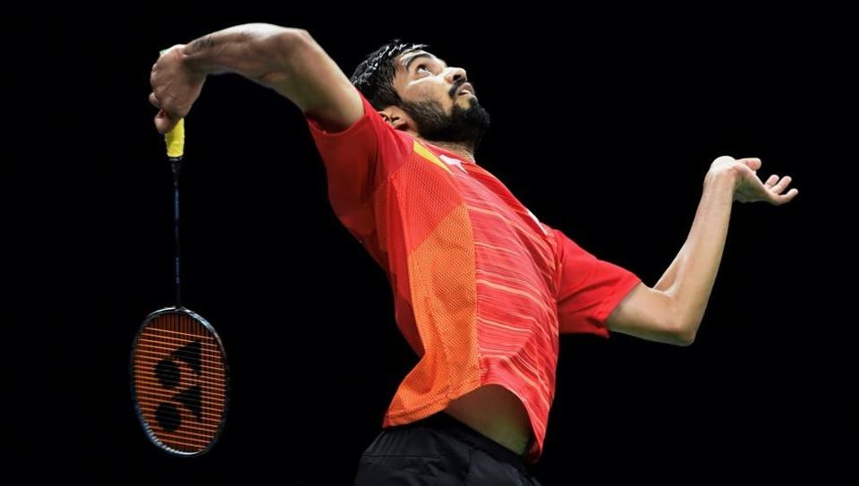 Kidambi Srikanth today became the new World No. 1 in Badminton World Federation rankings and also advanced to the CWG 2018 quarterfinals. Meanwhile, Sushil Kumar won gold in men's freestyle 74 kg and Rahul Aware emerged on top in men's 57kg freestyle wrestling. Earlier, shooter Tejaswini Sawant won silver in the women's 50m prone shooting event and Babita Kumari won silver in the women's 53 kg freestyle wrestling event. (Manvender Vashist  / PTI)
