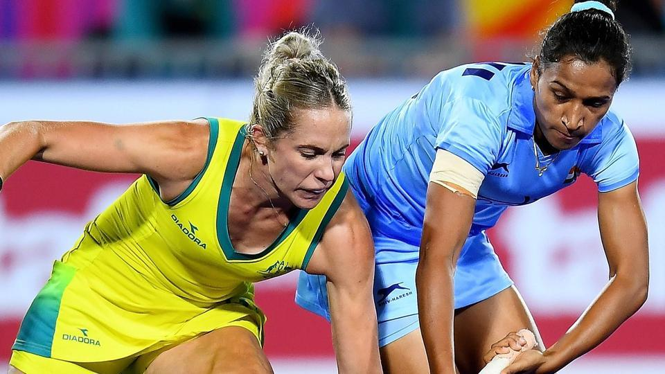 Indian women's hockey team were beaten by Australia in their 2018 Commonwealth Games semi-final encounter in Gold Coast.