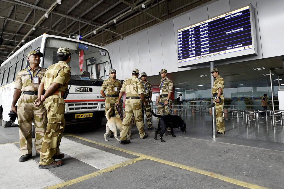 The bullets of .32mm calibre were recovered while the passenger's baggage was being scanned.