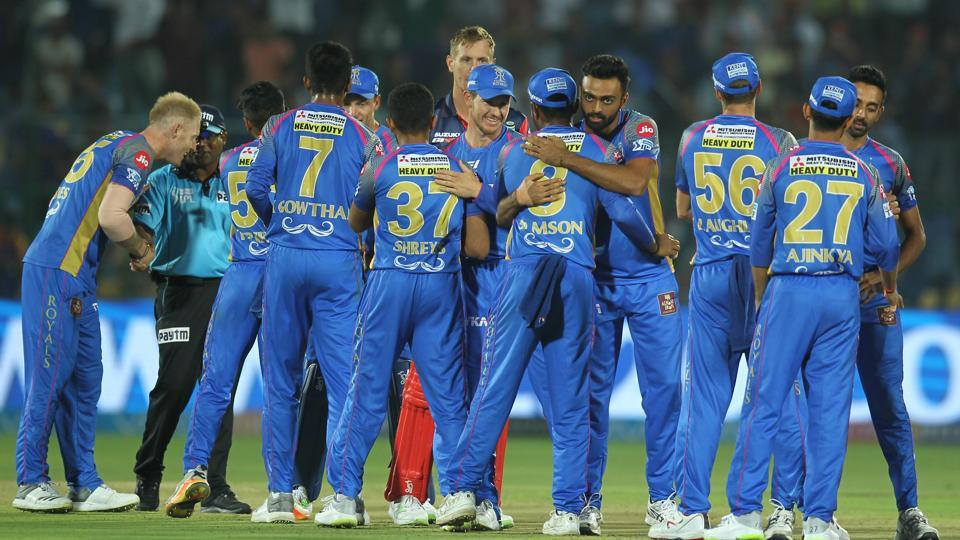 Rajasthan Royals won by 10 runs courtesy of DLS in their Indian Premier League 2018 encounter against Delhi Daredevils at the Sawai Mansingh Stadium in Jaipur on Wednesday. (IPL)