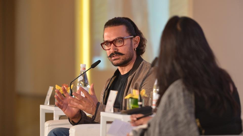 Aamir Khan speaking about his growing popularity in the neighbouring country at the first Hindustan Times-Mint Asia Leadership Summit in Singapore.