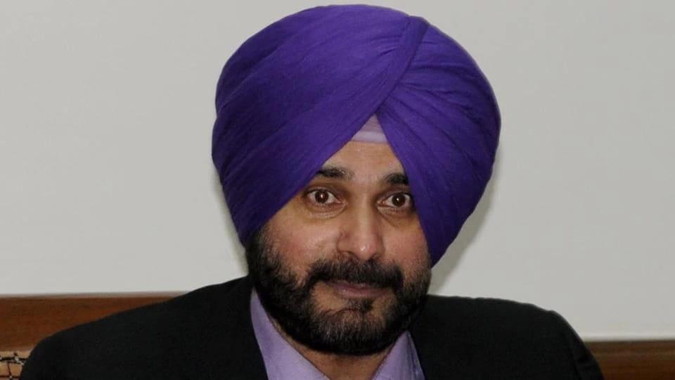Local bodies minister Navjot Singh Sidhu.