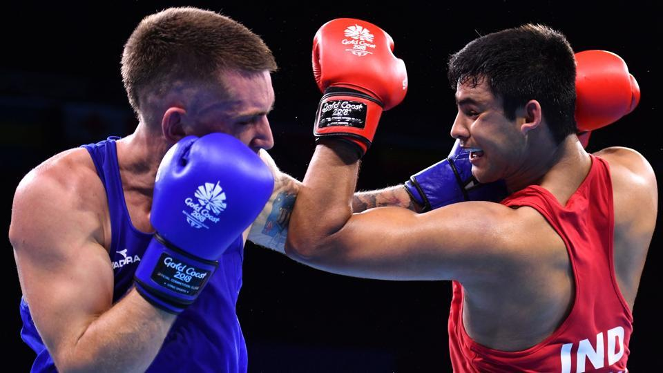 ANaman Tanwar will take on Australia's Jason Whateley in the semis of the men's 91 kg event but lost to settle for a bronze medal as India enjoyed their best day in the 2018 Commonwealth Games. (AFP)