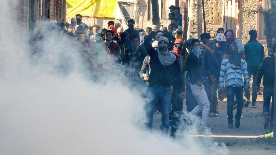 The Joint Resistance Leadership (JRL), a separatist conglomerate, called for protests after the Friday prayers against the death of four civilians during a gunfight in Kulgam district on Wednesday. One soldier was also killed in the encounter. (PTI File)