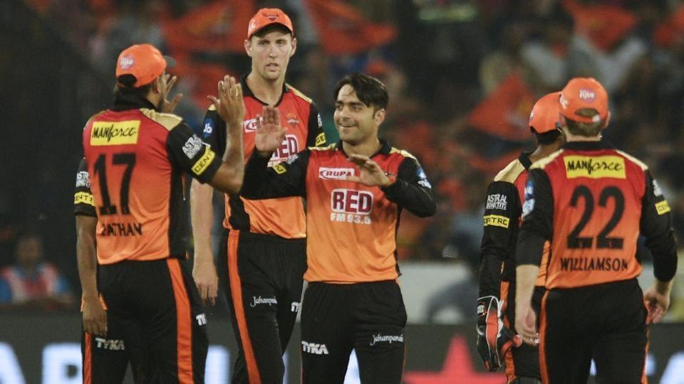 Sunrisers Hyderabad,IPL 2018,Rashid Khan
