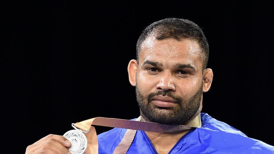 Mausam Khatri failed to make use of his wealth of experience as he settled for a silver after losing his final to South African Martin Erasmus in the men's freestyle 97 kg event. (PTI)