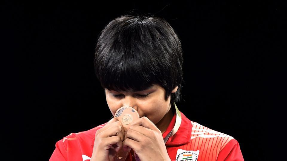 Divya Kakran won bronze in women's freestyle 68 kg by outplaying Bangladesh's Sherin Sultana 4-0, a victory by fall. (PTI)