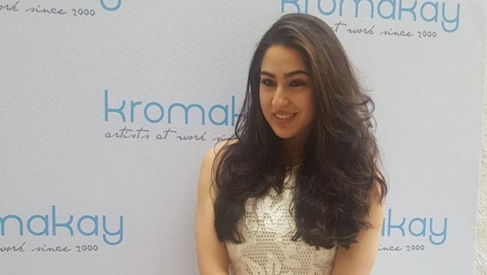 Sara Ali Khan will make her debut with Simmba, opposite Ranveer Singh.