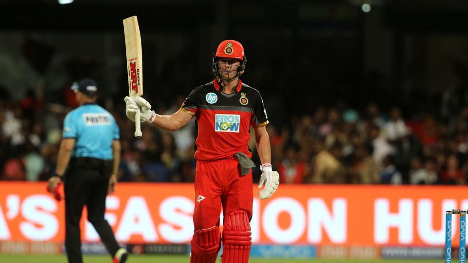 AB de Villiers blasted his 23rd fifty as Royal Challengers Bangalore defeated Kings XIPunjab by four wickets to get their IPL 2018 campaign back on track. (BCCI)