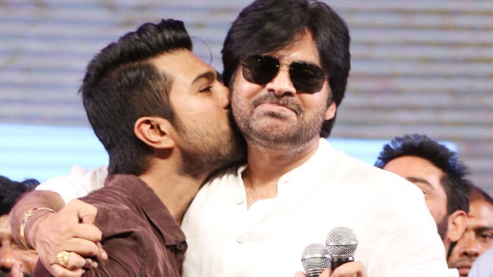 Pawan Kalyan appreciates nephew Ram Charan's film Rangasthalam.