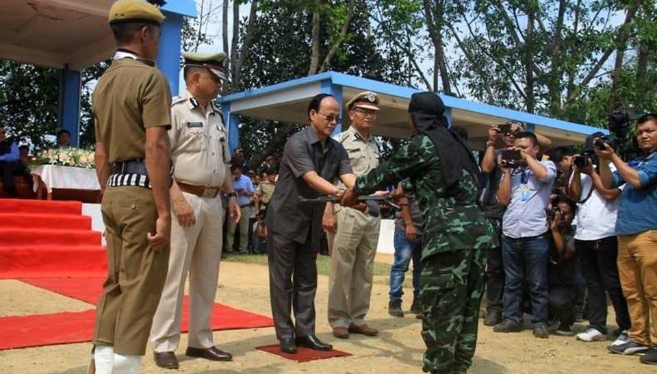 Mizoram,Rebel group,HPC-D