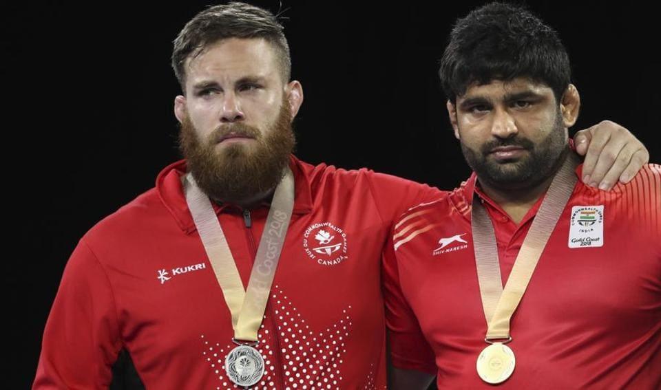 2018 Commonwealth Games,Gold Coast 2018,Sumit Malik