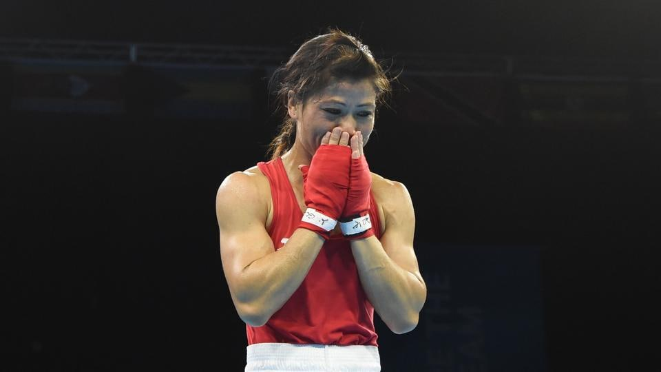 Mary Kom, a five-time World Champion and multiple-time Asian Champion, won her first Commonwealth Games medal and that too gold. (AFP)