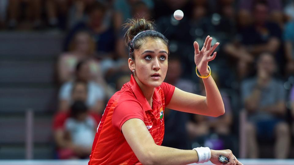 Manika Batra won the women's singles gold by beating Singapore's Mengyu Yu 4-0 in the final. (PTI)