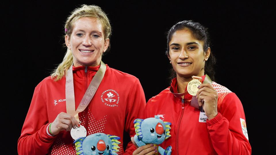 Vinesh Phogat won the women's freestyle 50 kg gold at 2018 Commonwealth Games (PTI)
