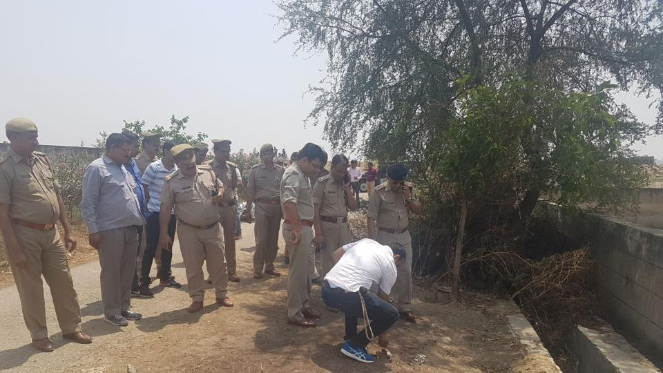 Noida encounter,Noida firing,two held in encounter