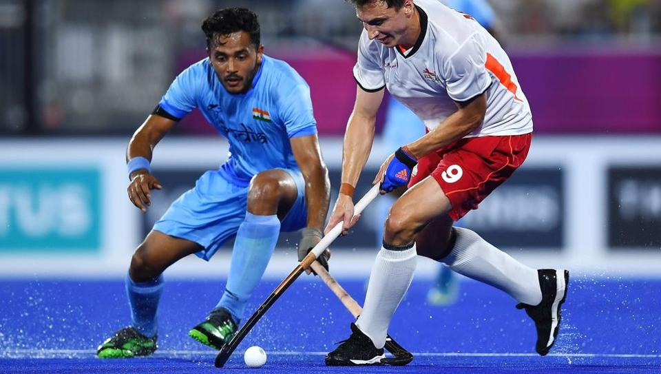 2018 Commonwealth Games hockey,India vs England,Indian men's hockey team