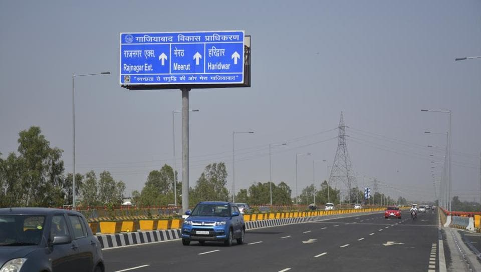 Delhi-Meerut Road,Raj Nagar Extension,Hindon elevated road
