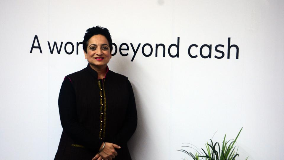 Shamina Singh, president, Mastercard Centre for Inclusive Growth poses for a picture.