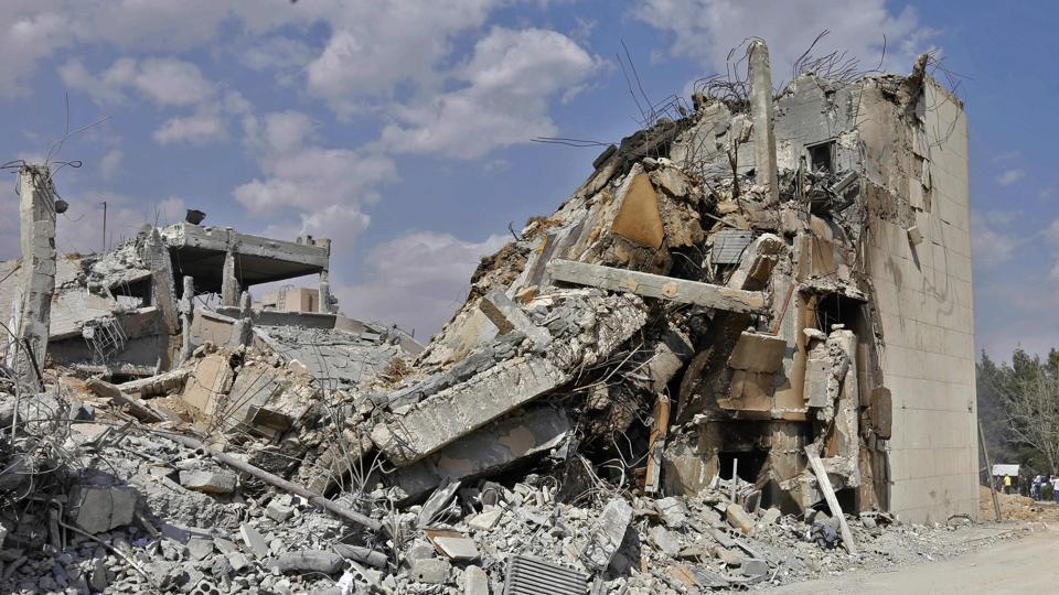 Syria strikes,US Airstrikes,Chemical attack