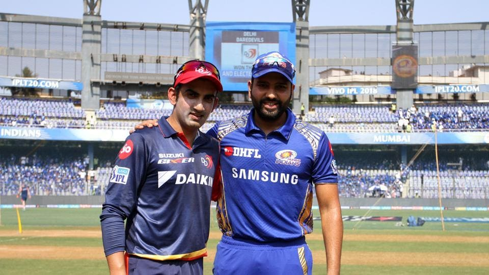 Delhi Daredevils captain Gautam Gambhir won the toss and opted to field.   (BCCI )