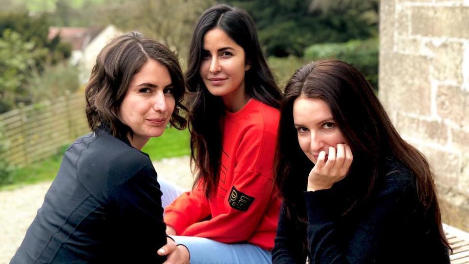 Katrina Kaif is enjoying the farm life with her sisters.