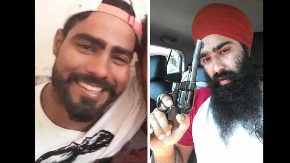 Sampat Nehra (left) was once a national-level athlete while Dilpreet is an accused  in 16 cases.