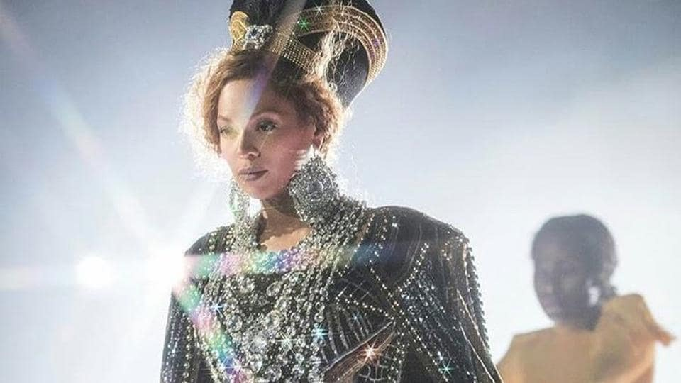 Beyonce returned to live performing after a year-long hiatus post giving birth to twins.