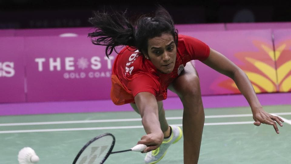 PV Sindhu has been on a roll in recent years but had to settle for silver.  (AP)