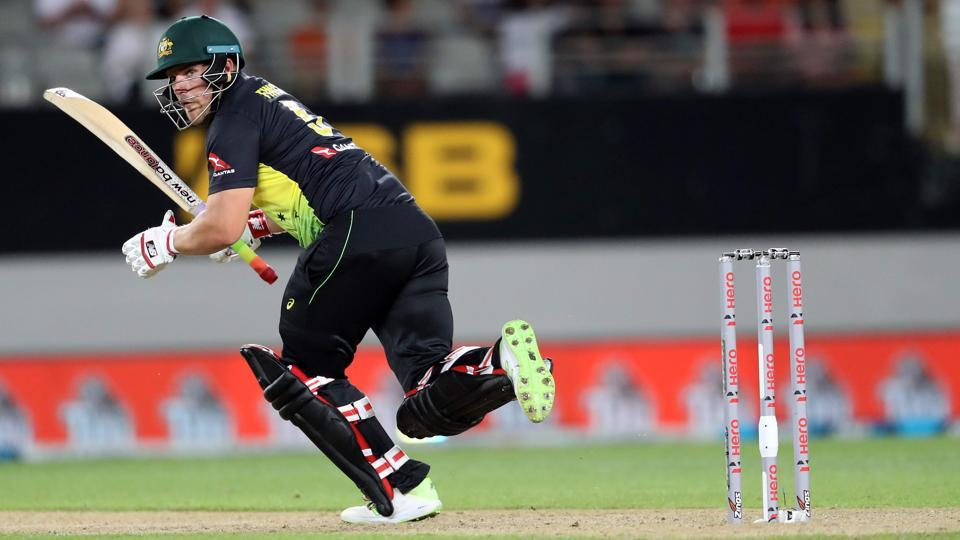 Aaron Finch has previously captained Australia in T20 and One Day International matches.