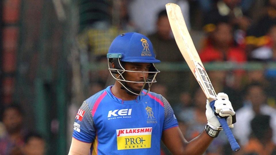 Sanju Samson's breathtaking strokeplay formed the cornerstone of Rajasthan Royals' 19-run win over Royal Challengers Bangalore in a high-scoring IPL encounter at the M Chinnaswamy Stadium on Sunday.