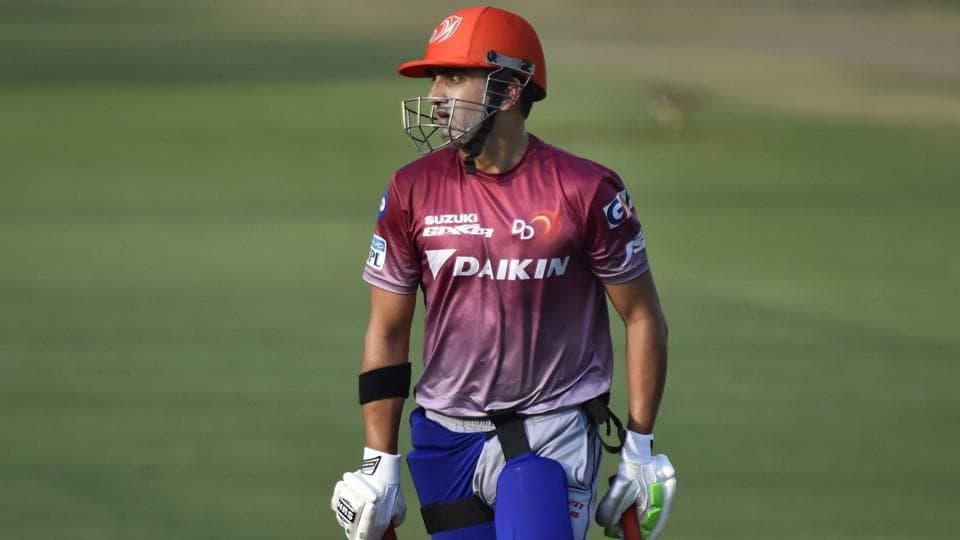 Gambhir has stepped down as DD skipper for the rest of the season. (IANS)