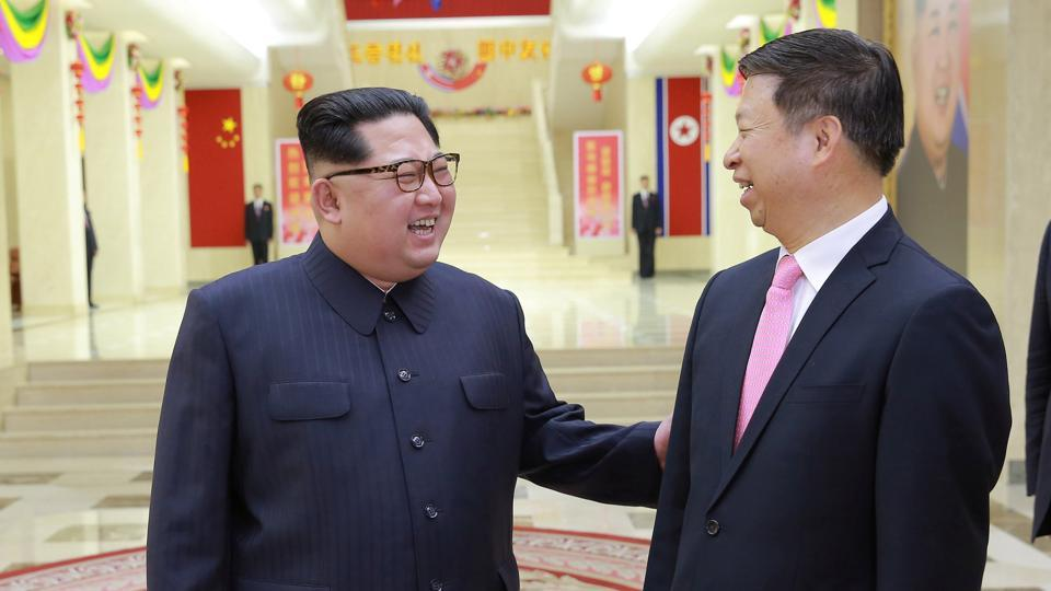 Kim Jong-un of North Korea Fetes Chinese Envoy as Ties Warm